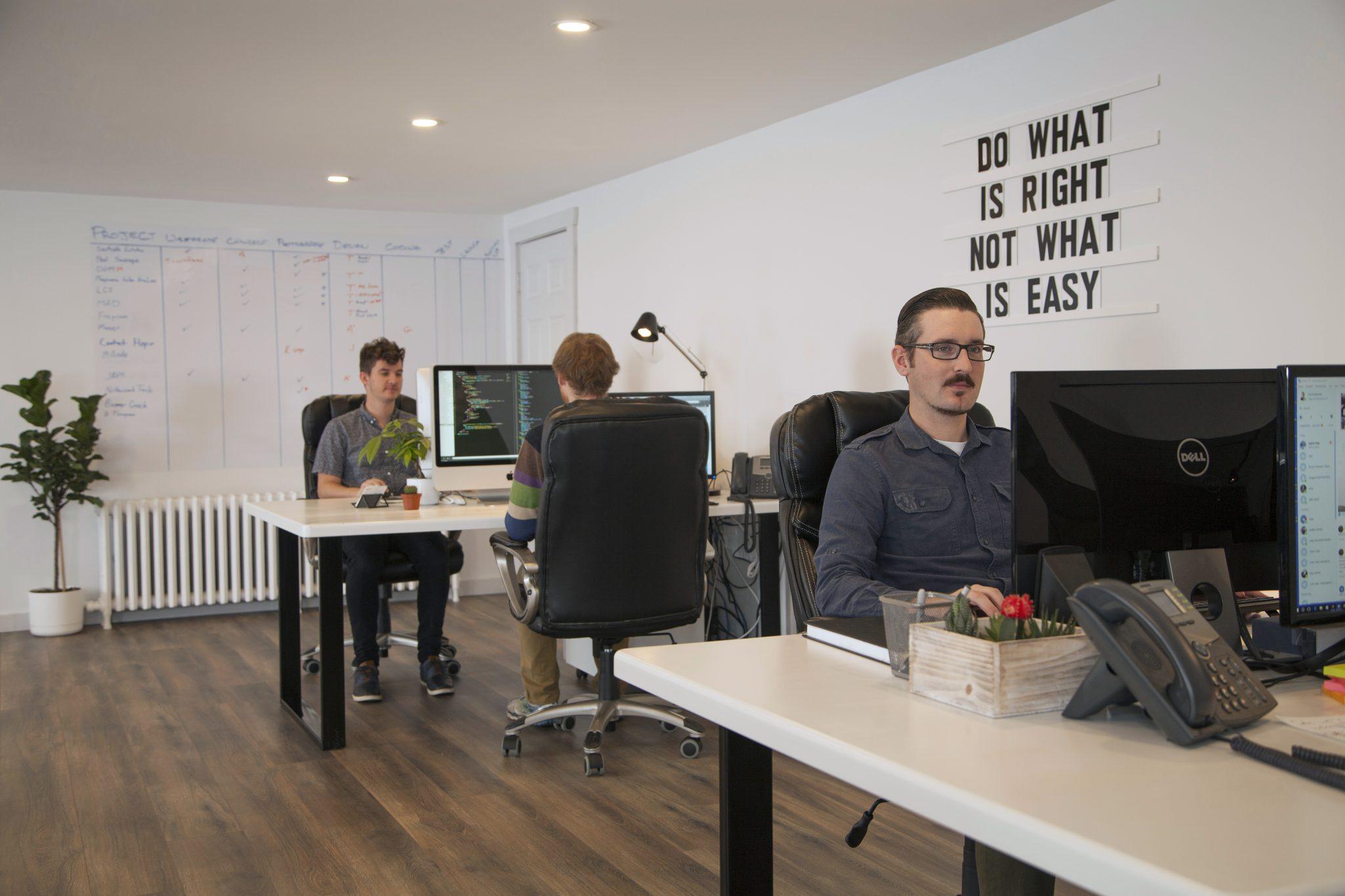Graphic designers office House Graphic Design Innovative Print Innovative Graphic Design Branding Identity Media